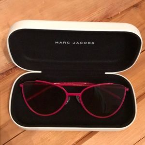 Marc Jacobs NWOT Wire Rim Pink Sun Glasses